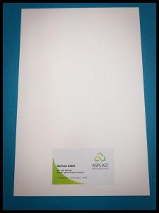 Biała płyta PVC twarda Lita